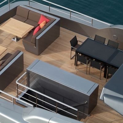 4A Yacht Flybridge - Aerial
