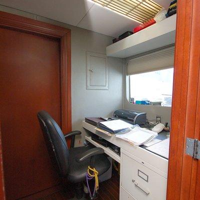 Stargazer Yacht Captain's Office