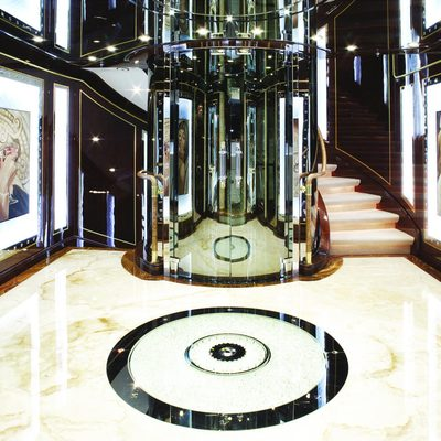 Diamonds Are Forever Yacht Main Entrance