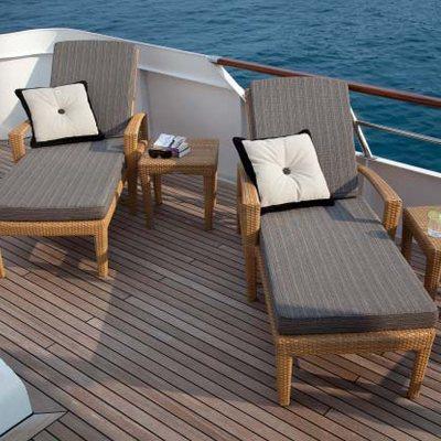 Shake N Bake TBD Yacht Sun Loungers