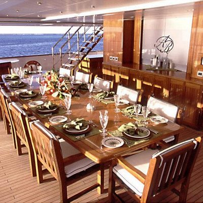 Nomad Yacht External Dining - Day