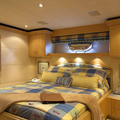 Nicole Evelyn Yacht Guest Stateroom