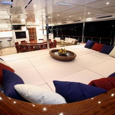 Loretta Yacht Aft Deck