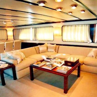 India Yacht Salon Seating