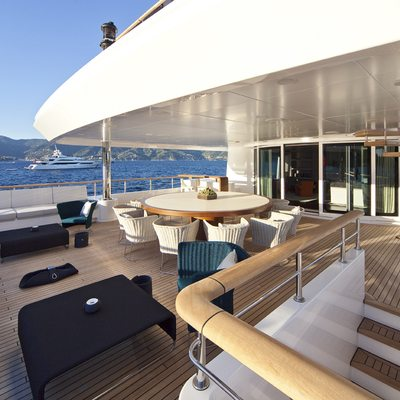Baraka Yacht Upper Deck