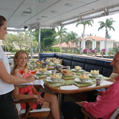 Milk and Honey Yacht Exterior Dining