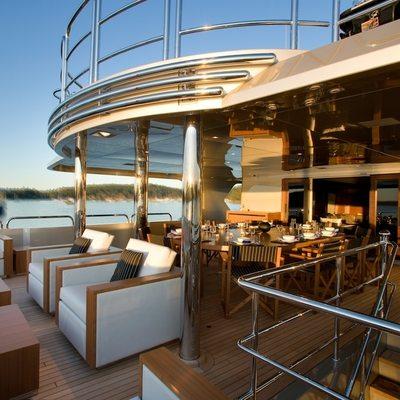Odessa Yacht Upper Deck