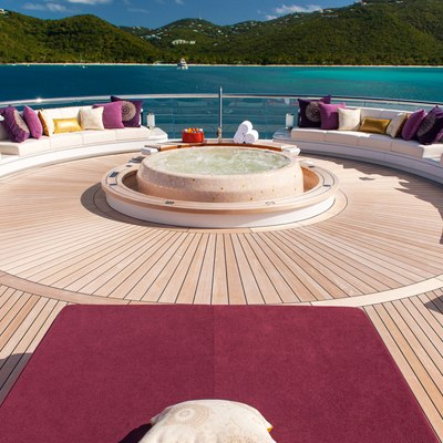 Solandge Yacht Exterior Seating And Jacuzzi