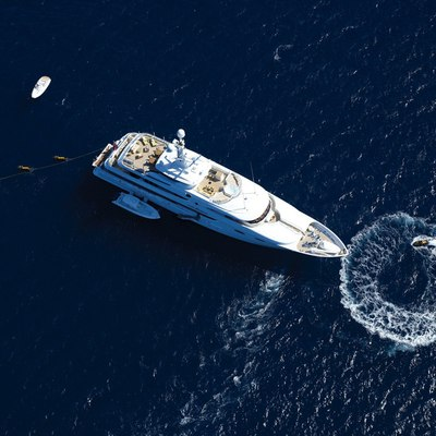 Lady Sheridan Yacht Aerial View - Water Toys