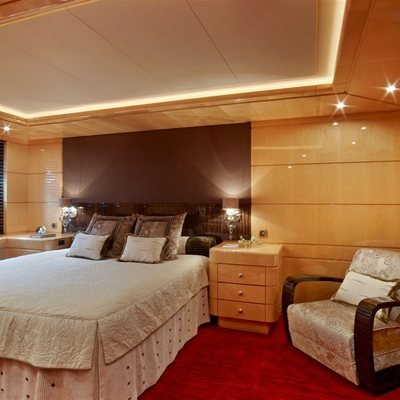 Lady MM Yacht Guest Stateroom