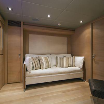 Escape II Yacht Covertable lower salon/twin cabin