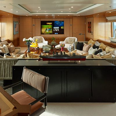 April Yacht Upper Deck Lounge