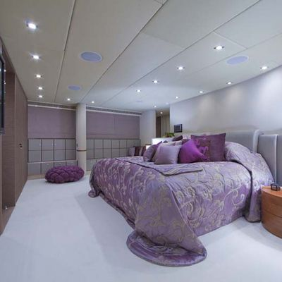 Daloli Yacht Master Stateroom - Side View