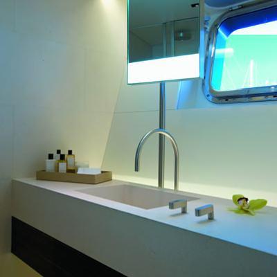 Baracuda Valletta Yacht Bathroom - Detail