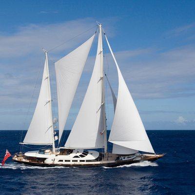 Antara Yacht Running Shot - Profile