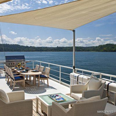 Seawolf Yacht Alfresco Dining