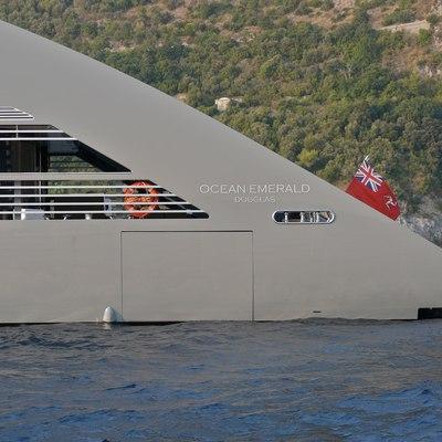 Ocean Emerald Yacht Side