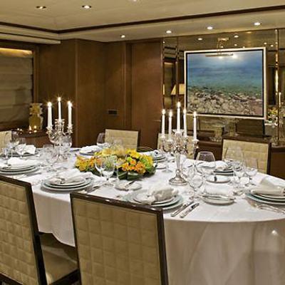 Lady Ellen Yacht Dining Salon