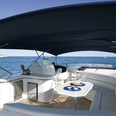 Lady Esther Yacht Exterior Seating