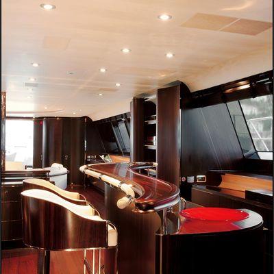 Parsifal III Yacht Interior Bar