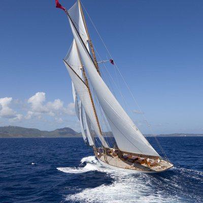 Elena Yacht Running Shot - Turning