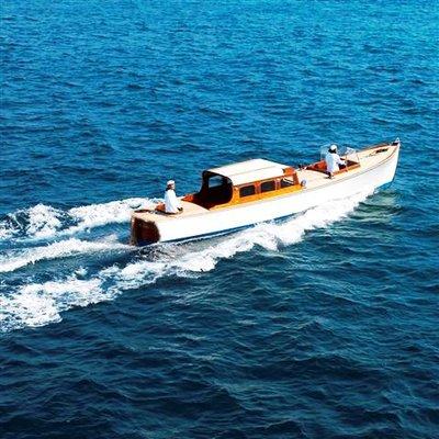 SS Delphine Yacht Running Shot - Tender