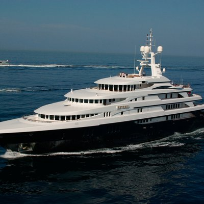 Freedom Yacht External View