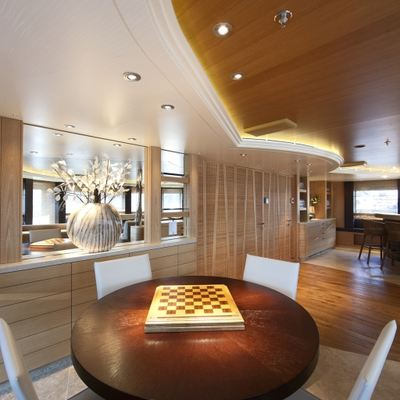 Naia Yacht Observation Lounge - Game Table