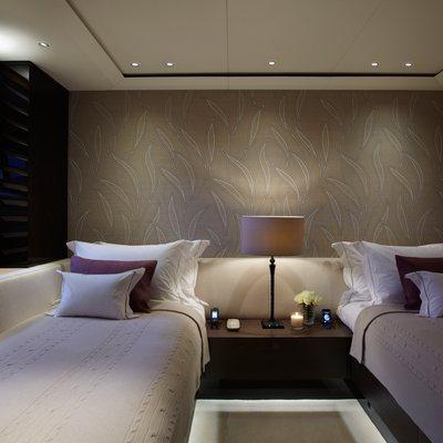 Twizzle Yacht Twin Stateroom