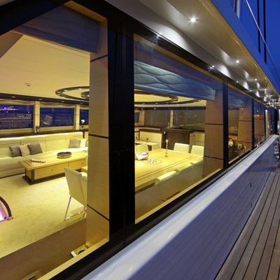 Perla del Mare Yacht View Inside