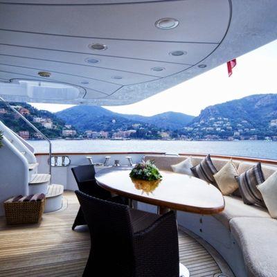 Accama Yacht Aft Deck