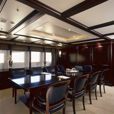 Freedom Yacht Dining Salon