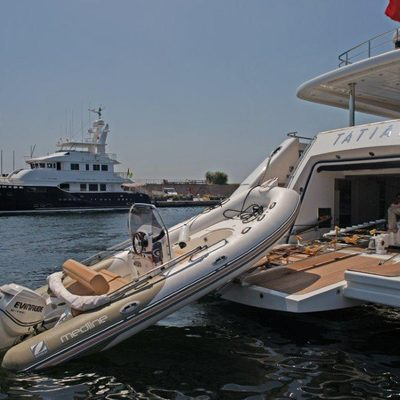 Tatiana Yacht Tender Launch