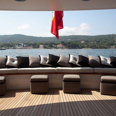 Shake N Bake TBD Yacht Main Aft Deck