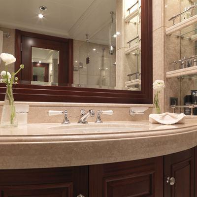 My Little Violet Yacht VIP Bathroom
