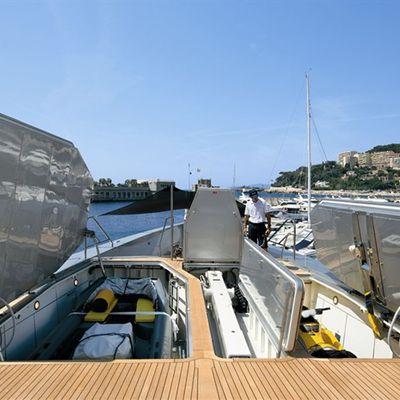 Exuma Yacht Tender Garage Open
