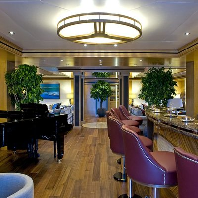 Neom Yacht Main Saloon Bar