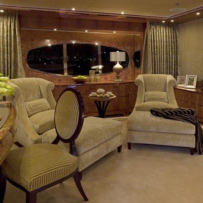 Lady Sheridan Yacht Master Stateroom Lounge