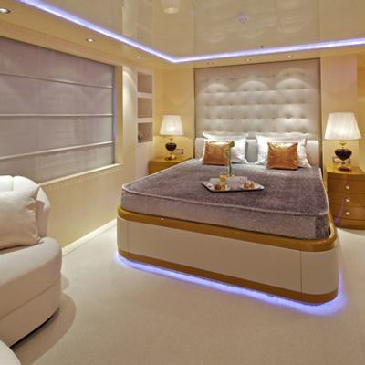 Mia Rama Yacht Blue Guest Stateroom
