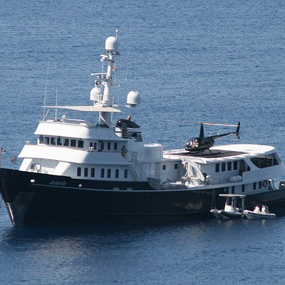 Asteria Yacht Front View