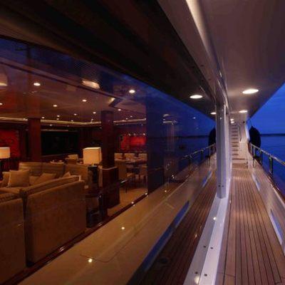 Harmony III Yacht Side Terrace