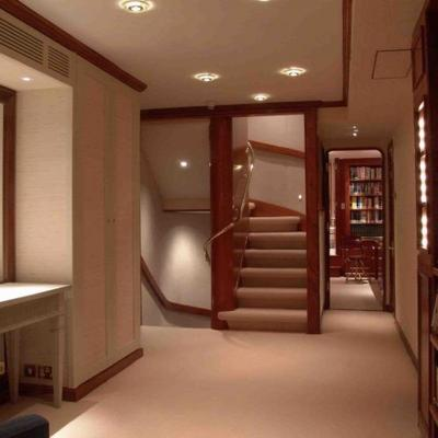 Atlantic Goose Yacht Hallway