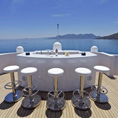 Mia Rama Yacht Exterior Bar