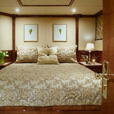 Top Five Yacht White Guest Stateroom