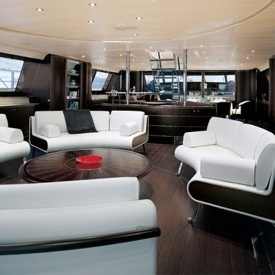 Parsifal III Yacht Salon Seating