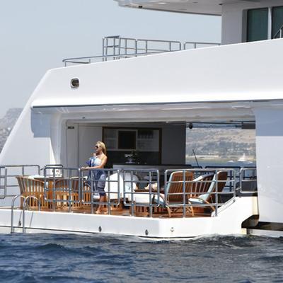 Pegasus VIII Yacht Extended Balcony