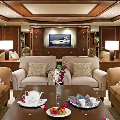 Princess Iolanthe Yacht Salon Seating