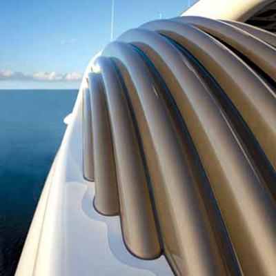 Aquila Yacht External Detail