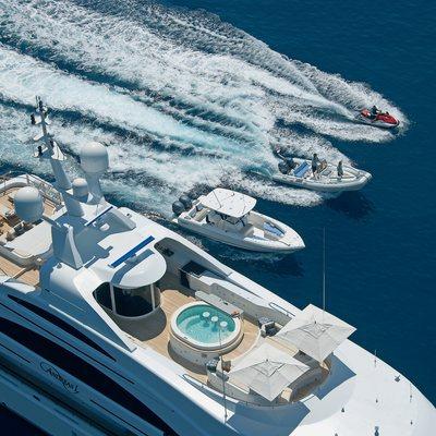 Mimi Yacht Tenders Alongside