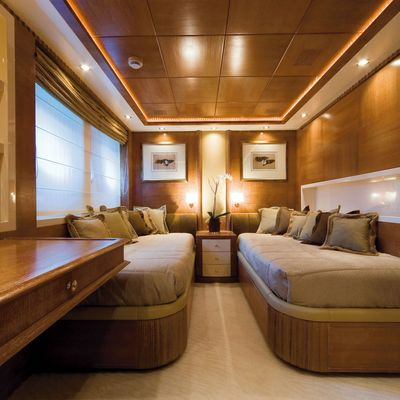 O'Ceanos Yacht Twin Stateroom - Overview